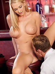 Blake Rose gets what her pussy rammed at a bar